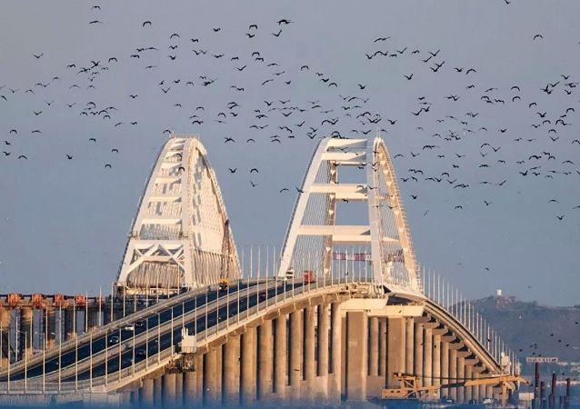 普京將乘火車通過克里米亞大橋