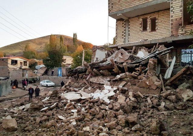 媒體:伊朗地震造成近530人受傷