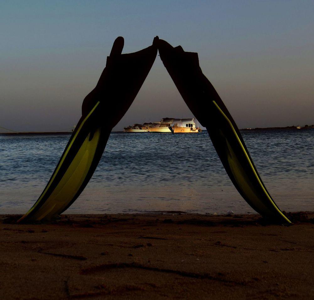 加勒比海的阿鲁巴岛海滩