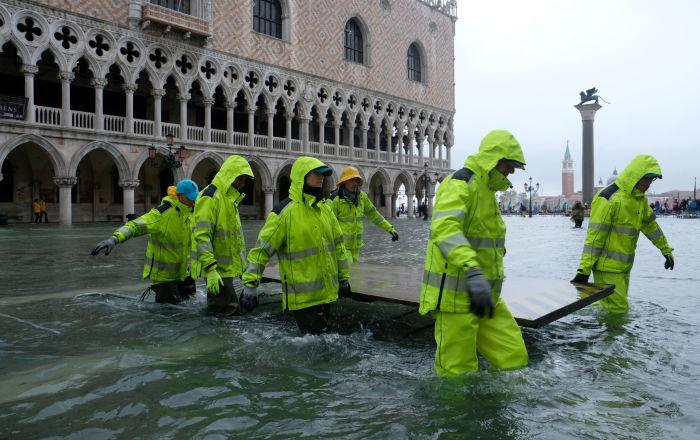 威尼斯水災
