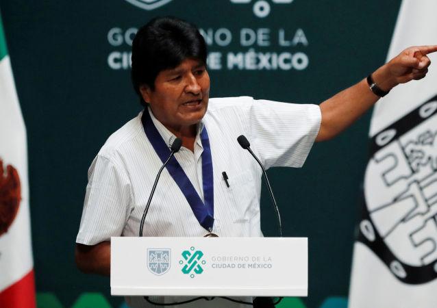 玻利維亞前總統莫拉萊斯