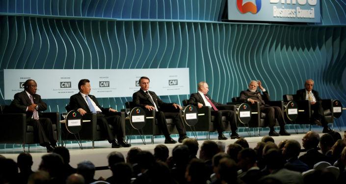 金磚國家領導人為巴西峰會開了好頭