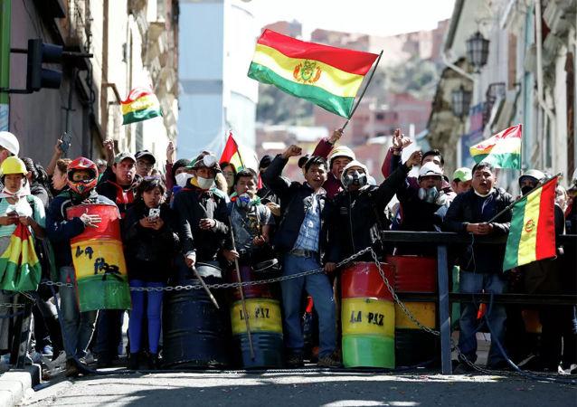玻利维亚危机与美国干预有关