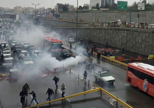 美国国务院指控伊朗政权在抗议活动爆发以来杀害至少一千人
