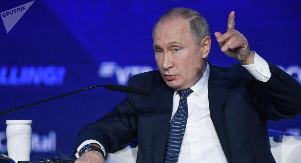 普京:中國的經濟比美國更有效率 因此華盛頓施加限制