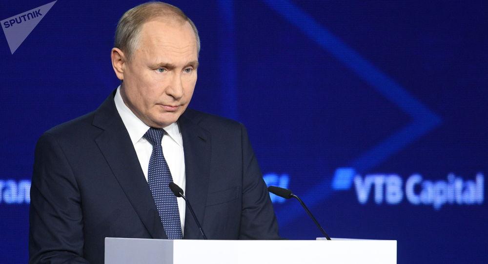 普京:遏制俄中是美国的严重战略错误