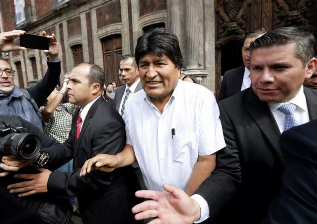 玻利維亞外交部就莫拉萊斯的行為向墨西哥提出抗議