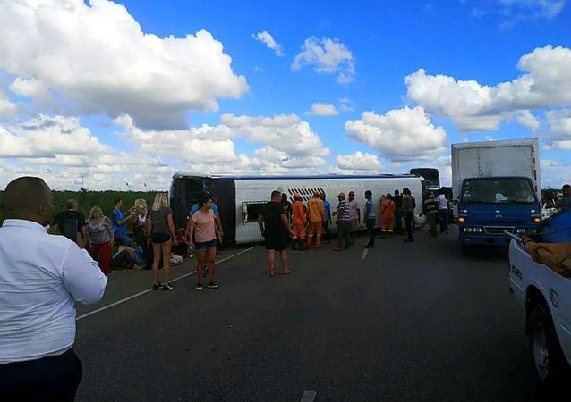多米尼加交通事故中受伤的俄罗斯游客中仍有18人留院治疗