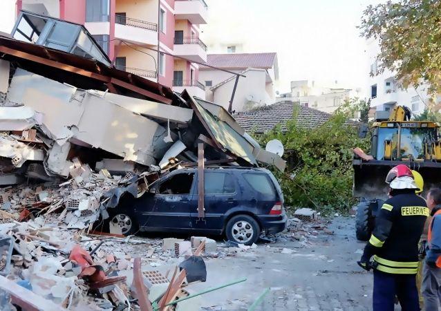 阿尔巴尼亚地震遇难者人数增至32人