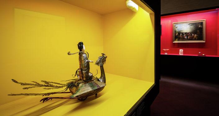 克宮博物館彼得一世展品中的中國珍寶