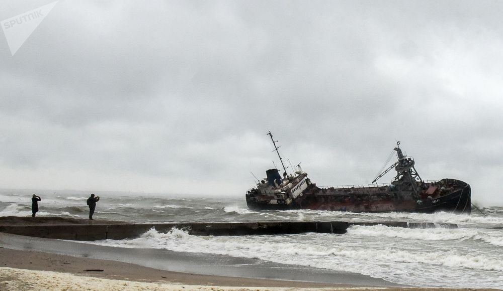 德爾菲號油輪沈沒在敖德薩附近