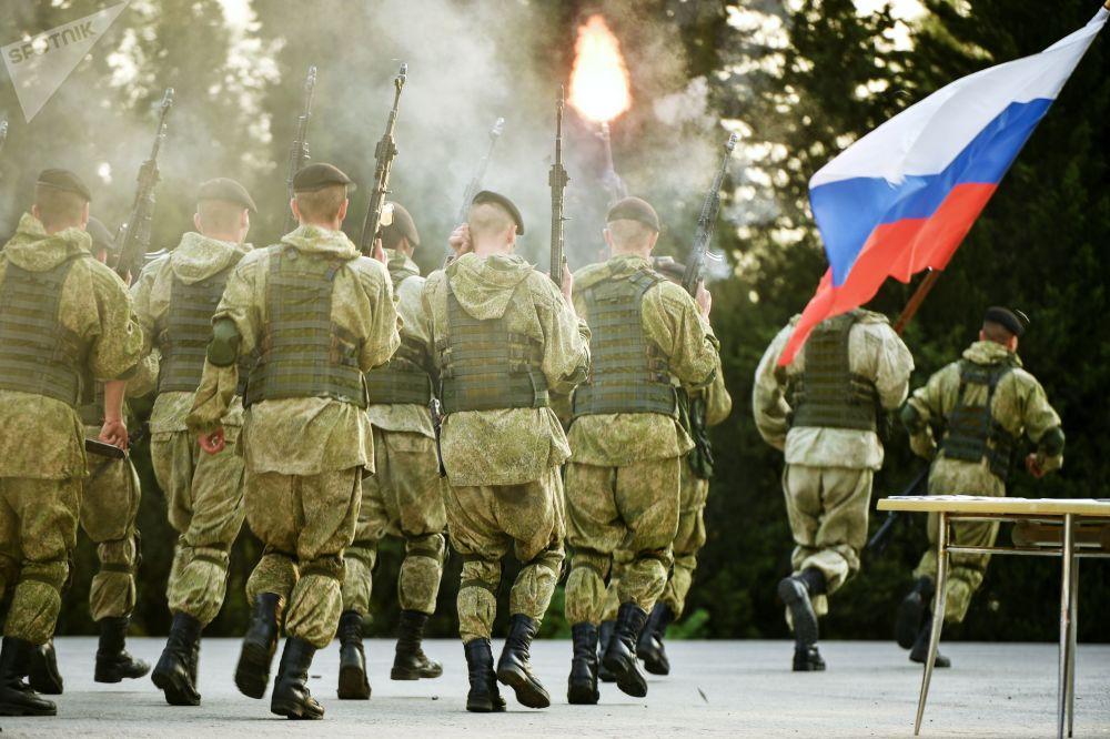 「你我服務於俄羅斯」活動中的示範演講