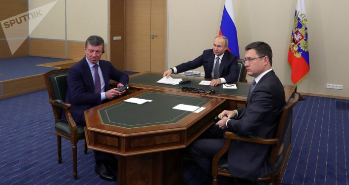 普京:「西伯利亞力量」的啓動使俄中合作提升到新的高度
