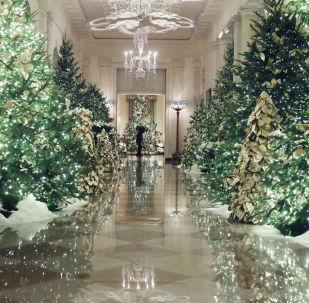 白宮迎聖誕