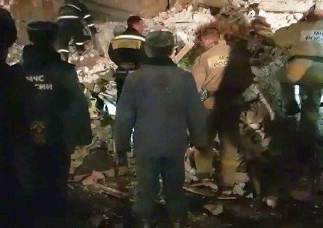 俄别尔哥罗德州一住房发生燃气爆炸致一人死亡六人受伤