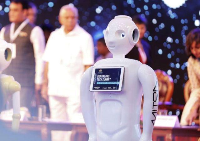 印度的机器人将会说中文