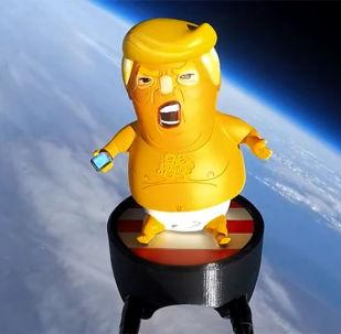 特朗普版玩具被發送到太空