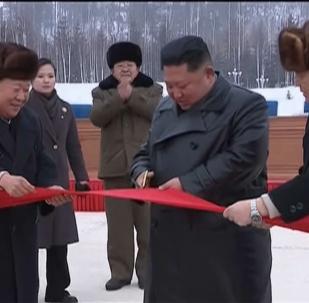 朝鮮新城隆重開放