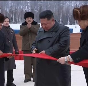 朝鲜新城隆重开放