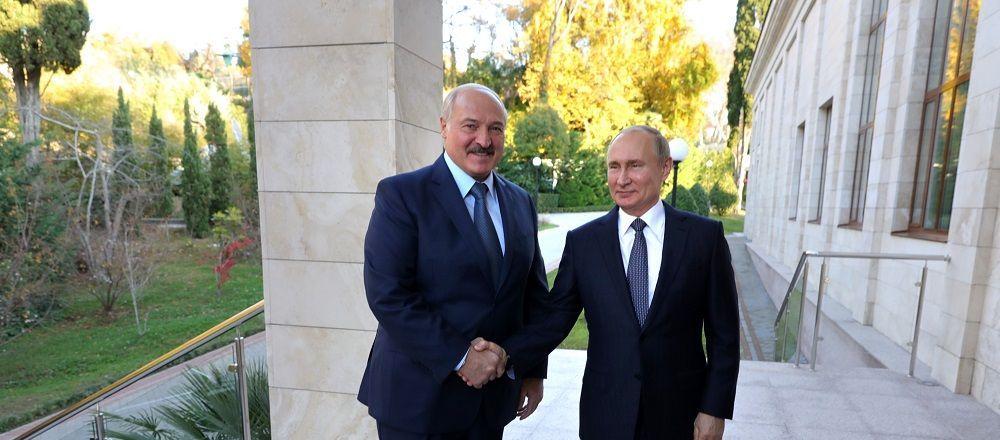 普京希望俄白兩國繼續推進經濟一體化