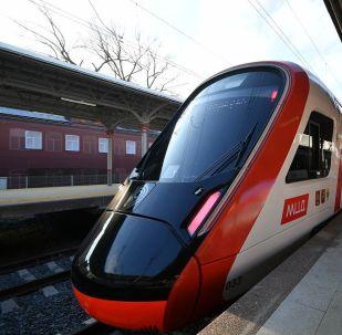 莫斯科中央直径线每昼夜客运量达到55万人