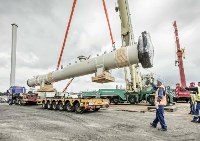 德國呼籲美國不要制裁「北溪-2」天然氣管道