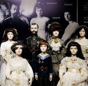 俄國歷代君王玩偶