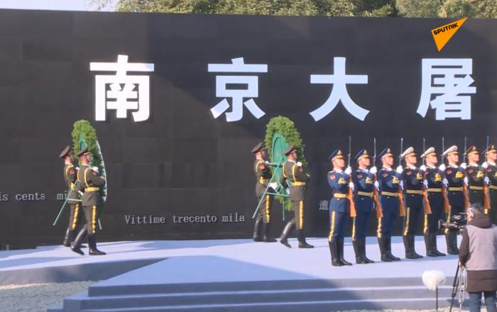 中国举行南京大屠杀死难者国家公祭日